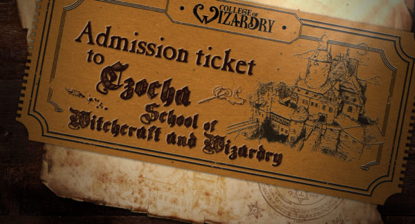 College of Wizardry Ticket